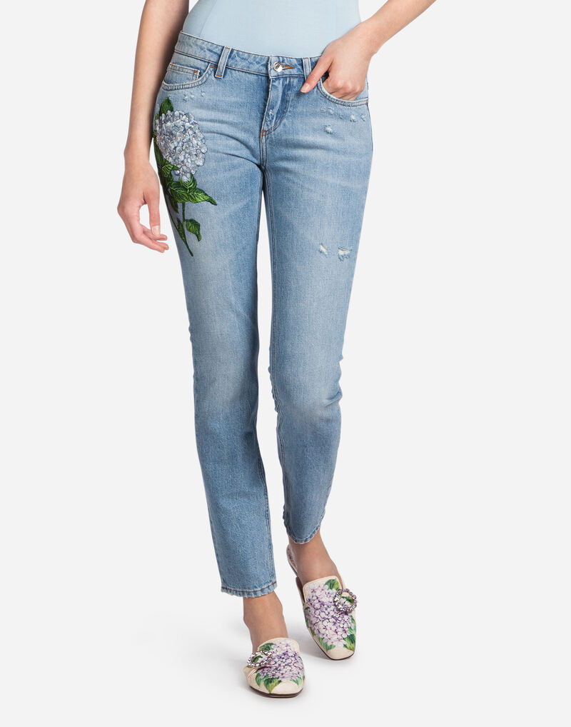 PRETTY FIT JEANS WITH PATCH