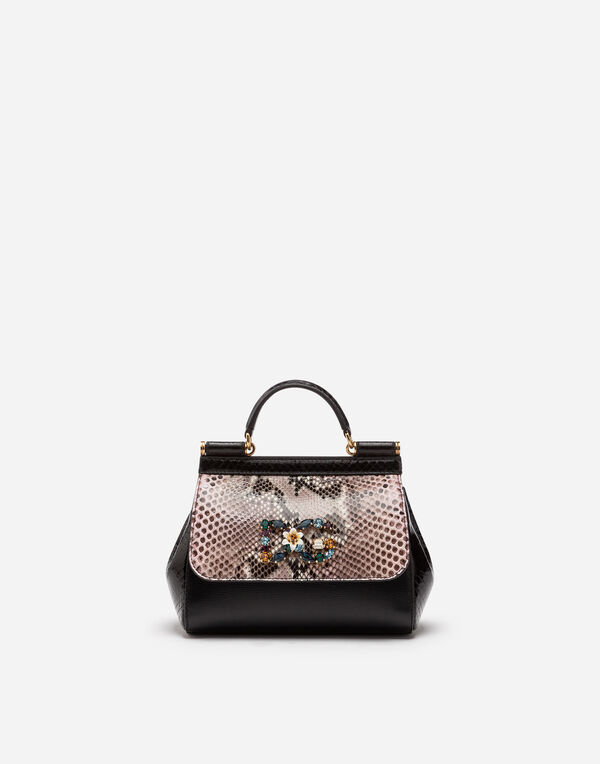 52fd01d4a07 Dolce   Gabbana SICILY CROSS-BODY BAG IN A MIX OF MATERIALS. Available Size.  OneSize. quick shop Add to Wishlist