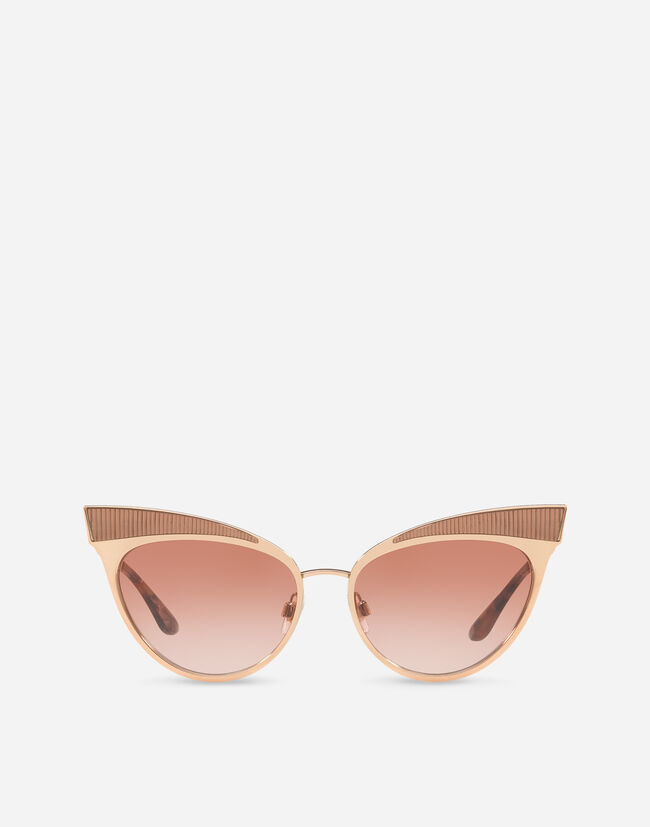 Dolce & Gabbana METAL CAT EYE SUNGLASSES