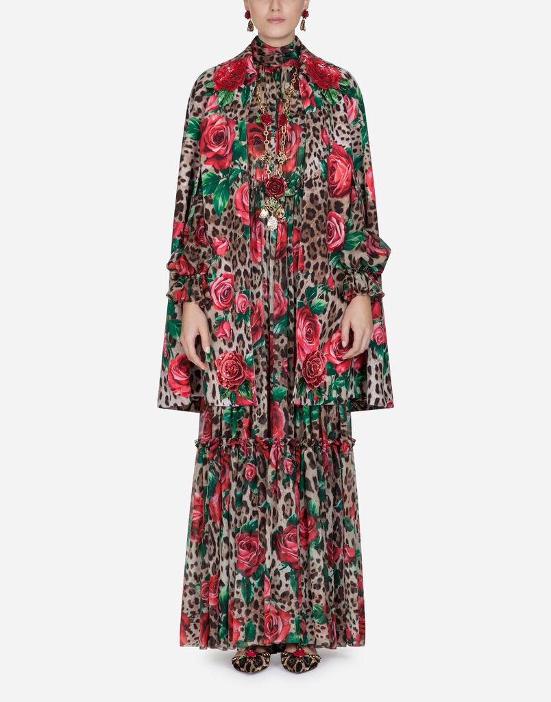 Dolce   Gabbana SILK CHIFFON JUMPSUIT 3920f3ca8f