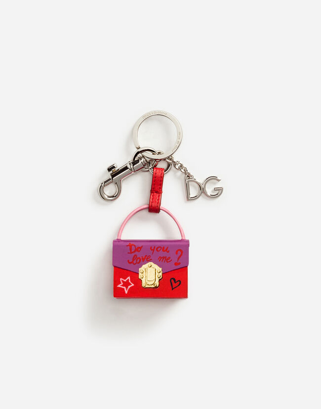Dolce&Gabbana LUCIA CHARM KEY RING