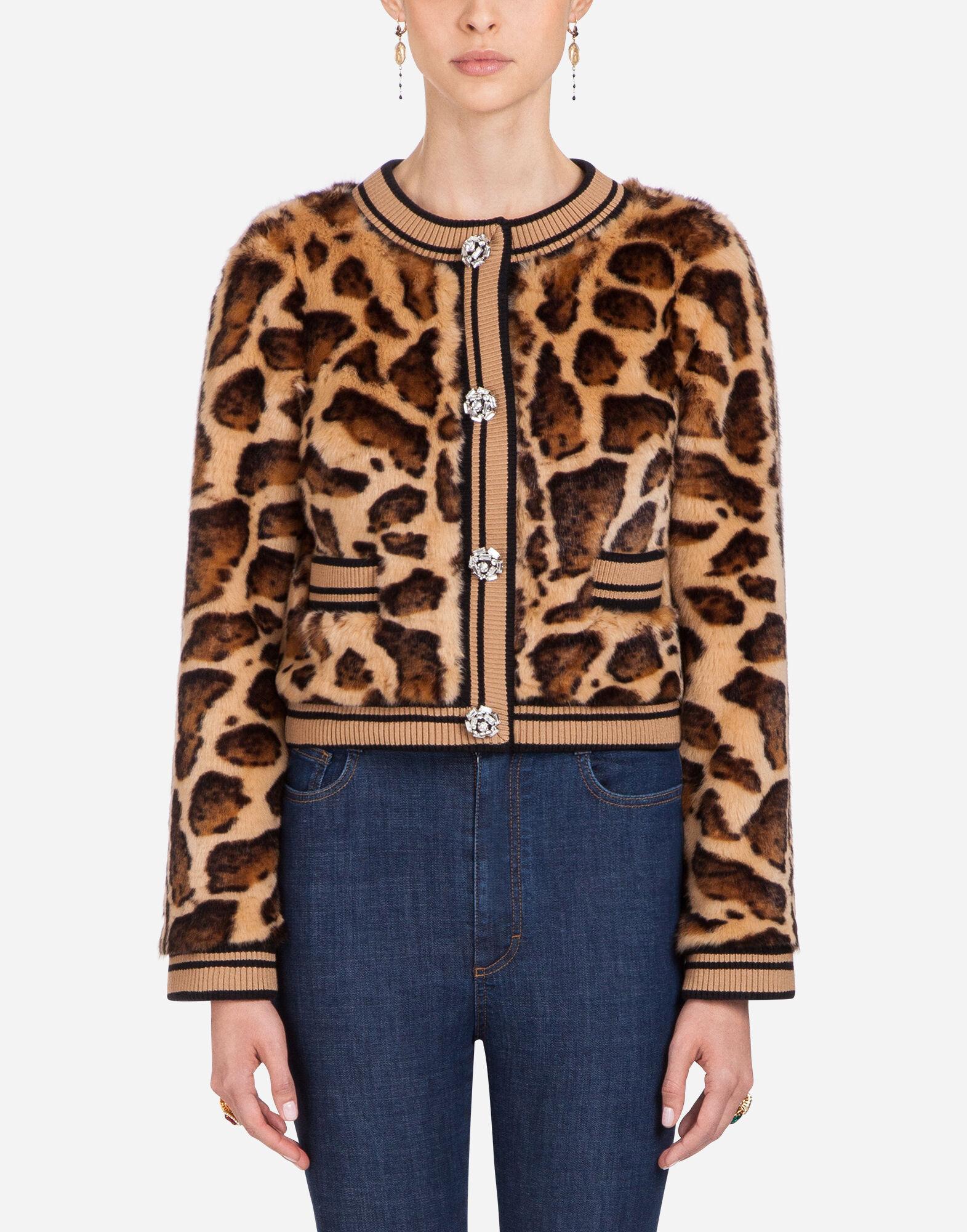 Dolce Pelliccia amp;Gabbana Giacca In Eco Donna Abbigliamento w0UvvAq