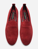 SPLIT-GRAIN LEATHER SLIPPERS