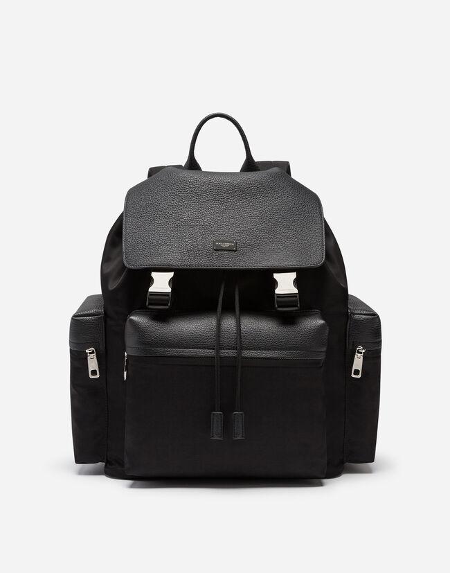 d769b26935 Mixed Material Backpack - Men s