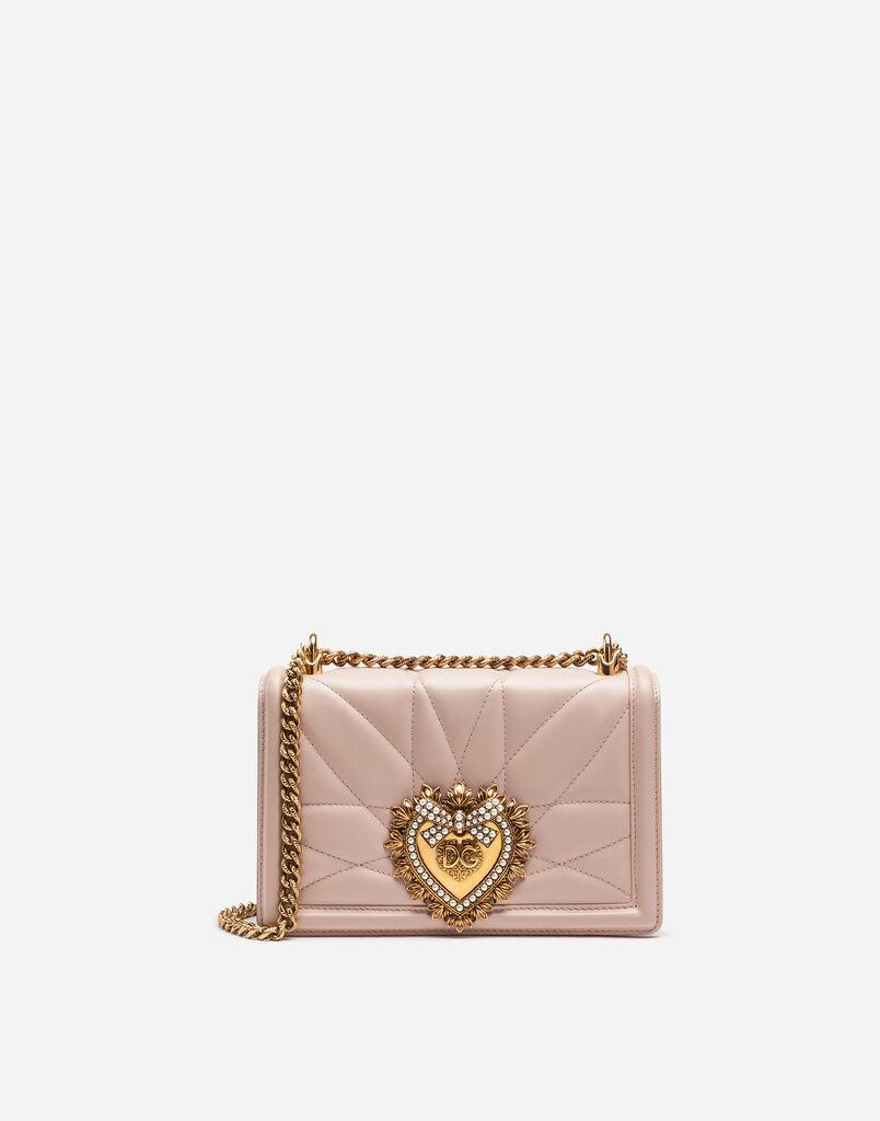 0c22b4cde0169 Dolce Gabbana SAC DEVOTION FORMAT MOYEN EN CUIR NAPPA MATELASSÉ