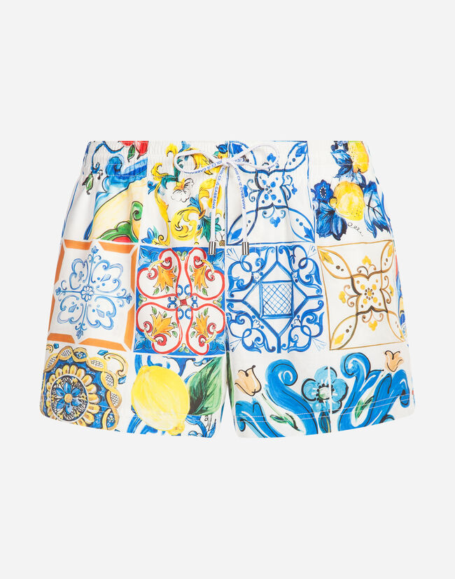 Dolce & Gabbana SHORT PRINTED SWIMMING TRUNKS