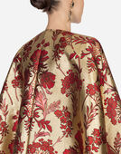 Dolce & Gabbana LUREX JACQUARD CAPE