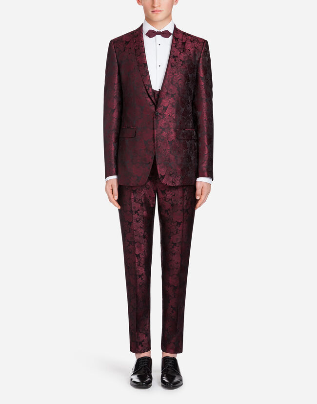 JACQUARD SILK MARTINI SUIT