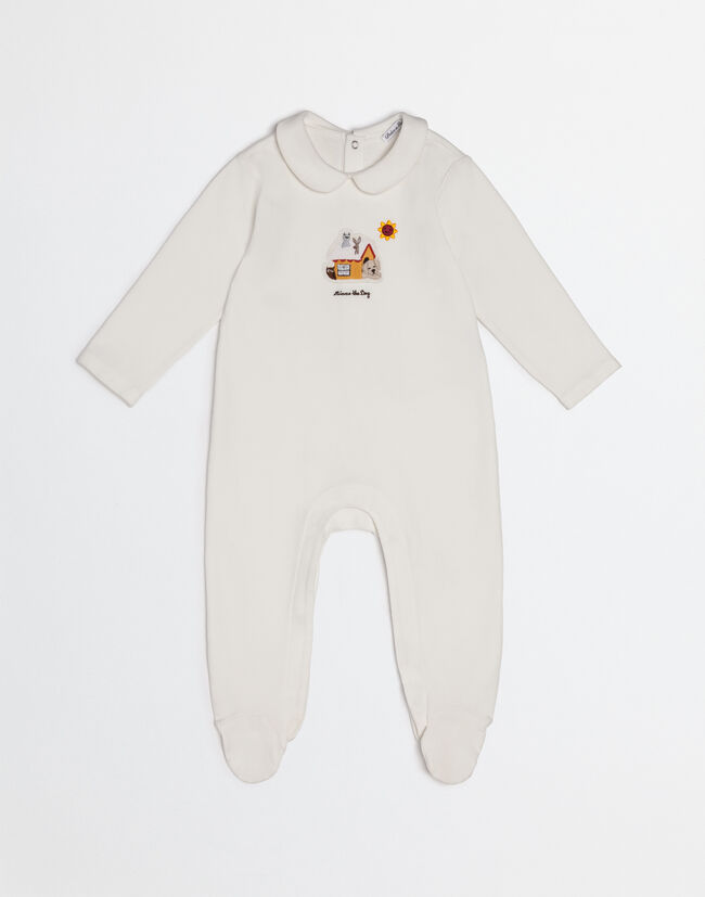 MIMMO THE DOG ONESIE IN COTTON