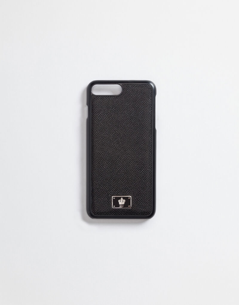 IPHONE 7 PLUS COVER WITH DAUPHINE LEATHER DETAILS