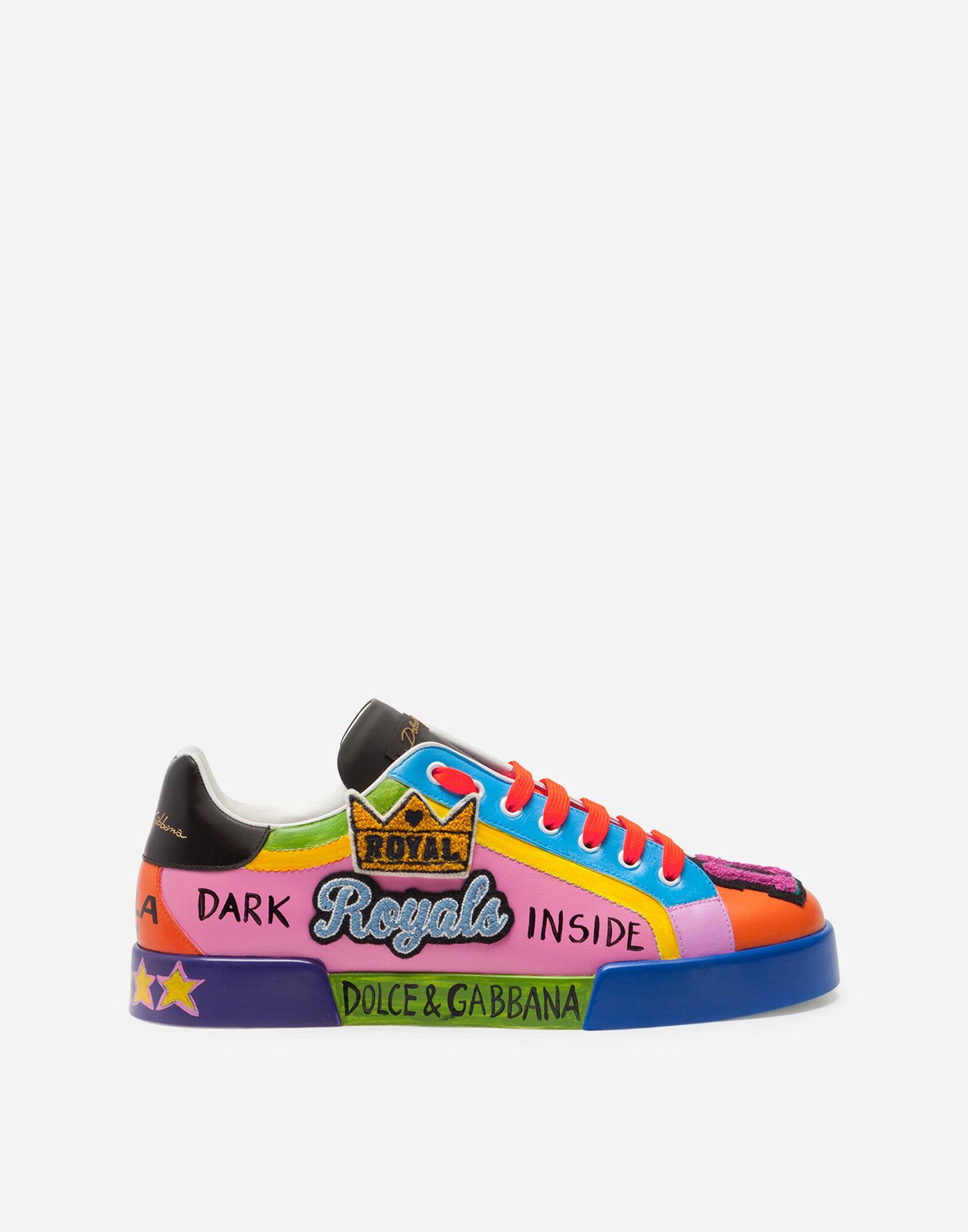 Sneakers et Slip on pour Homme   Dolce&Gabbana SNEAKERS PORTOFINO BY EMIS KILLA