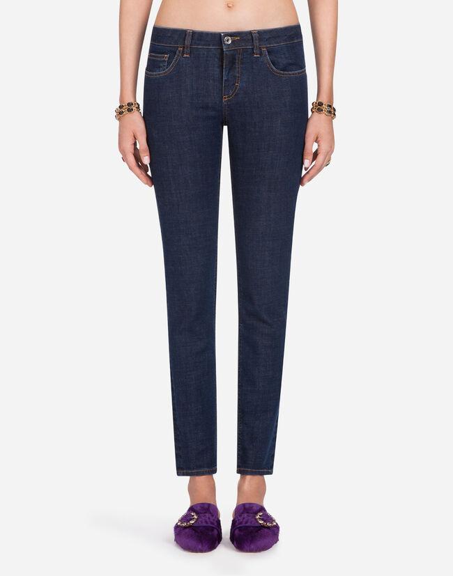 f22132eca7 Stretch Cotton Pretty-Fit Jeans - Women's Jeans | Dolce&Gabbana