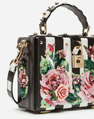 Dolce&Gabbana DOLCE BOX BAG IN PRINTED DAUPHINE