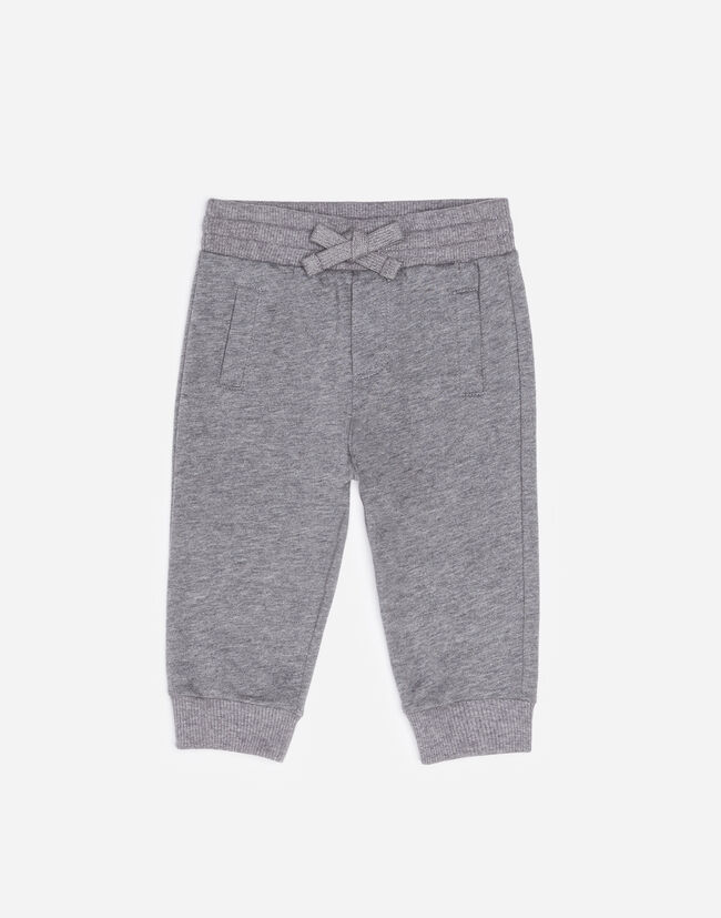 COTTON JOGGING PANTS WITH EMBROIDERY