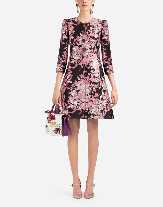 Dolce&Gabbana LUREX JACQUARD COAT