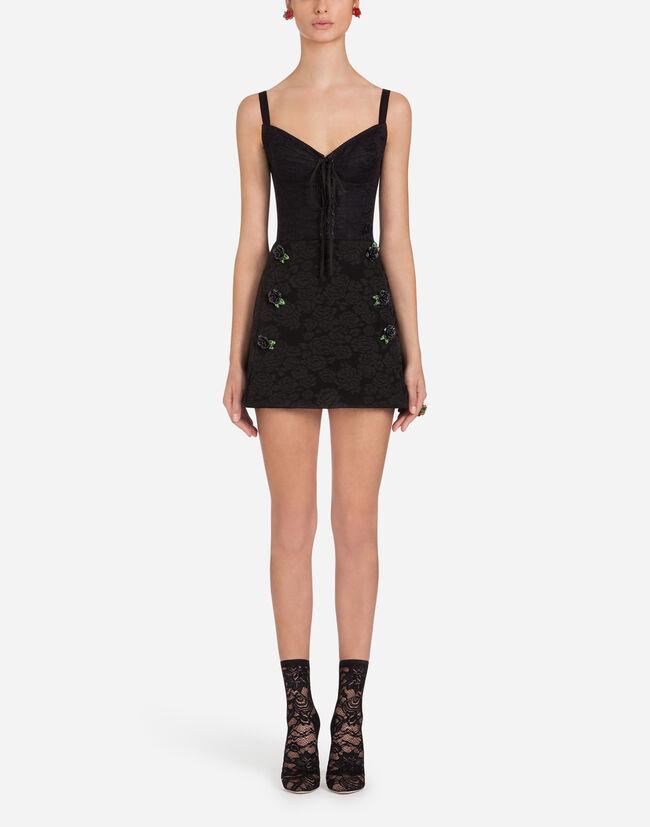Dolce&Gabbana LINGERIE SLIP IN JACQUARD