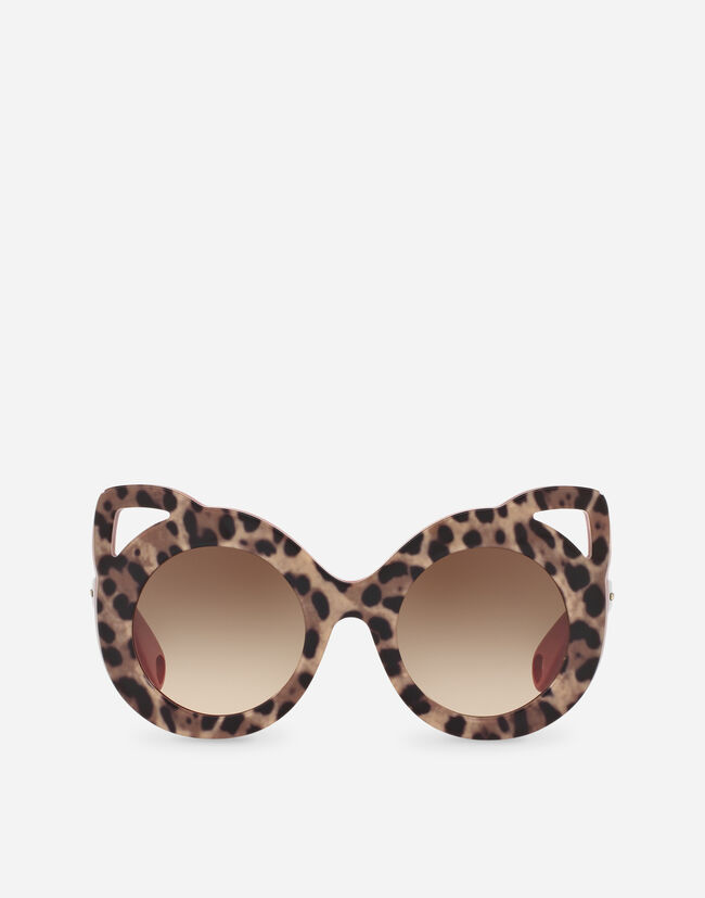 92eb8c812f69 Round Acetate Sunglasses - Girls | Dolce&Gabbana