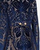 Dolce & Gabbana JACQUARD VELVET COAT