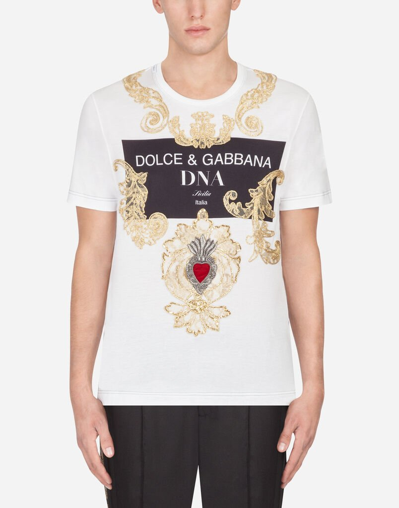ef64d6d6 T-shirts and Polo for Men | Dolce&Gabbana