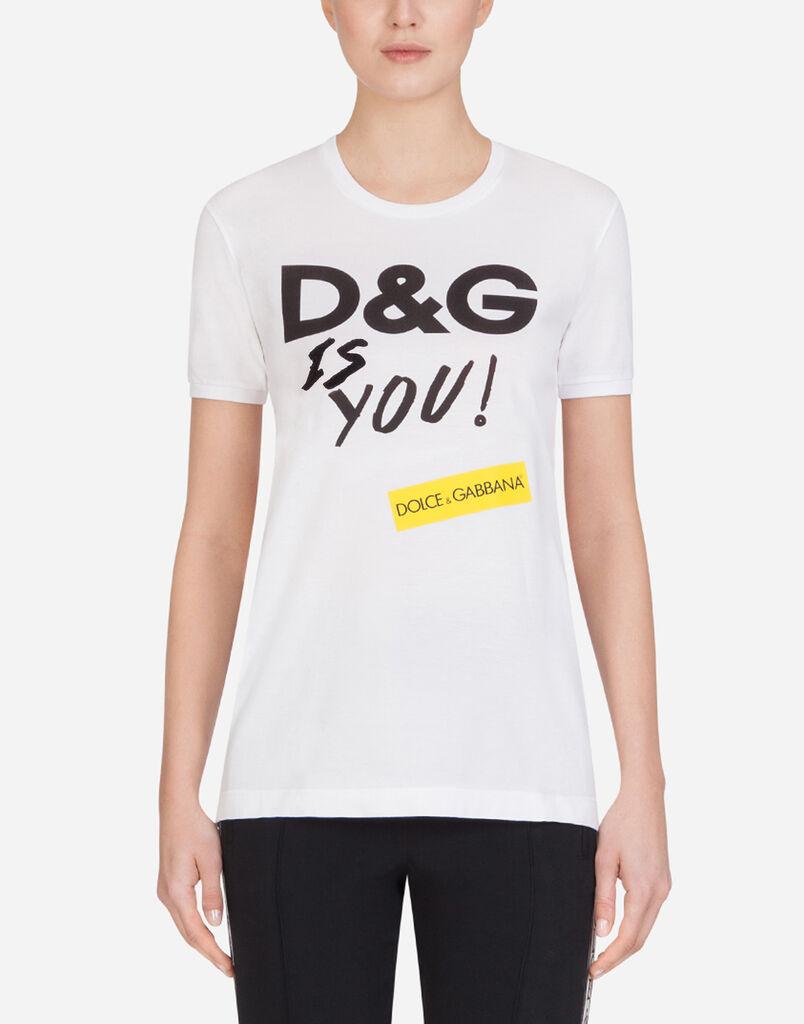 55abcd45 Women's T-shirts and Sweatshirts | Dolce&Gabbana