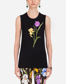 Dolce & Gabbana SLEEVELESS WOOL KNIT