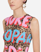Dolce & Gabbana POP LEOPARD-PRINT VISCOSE TOP