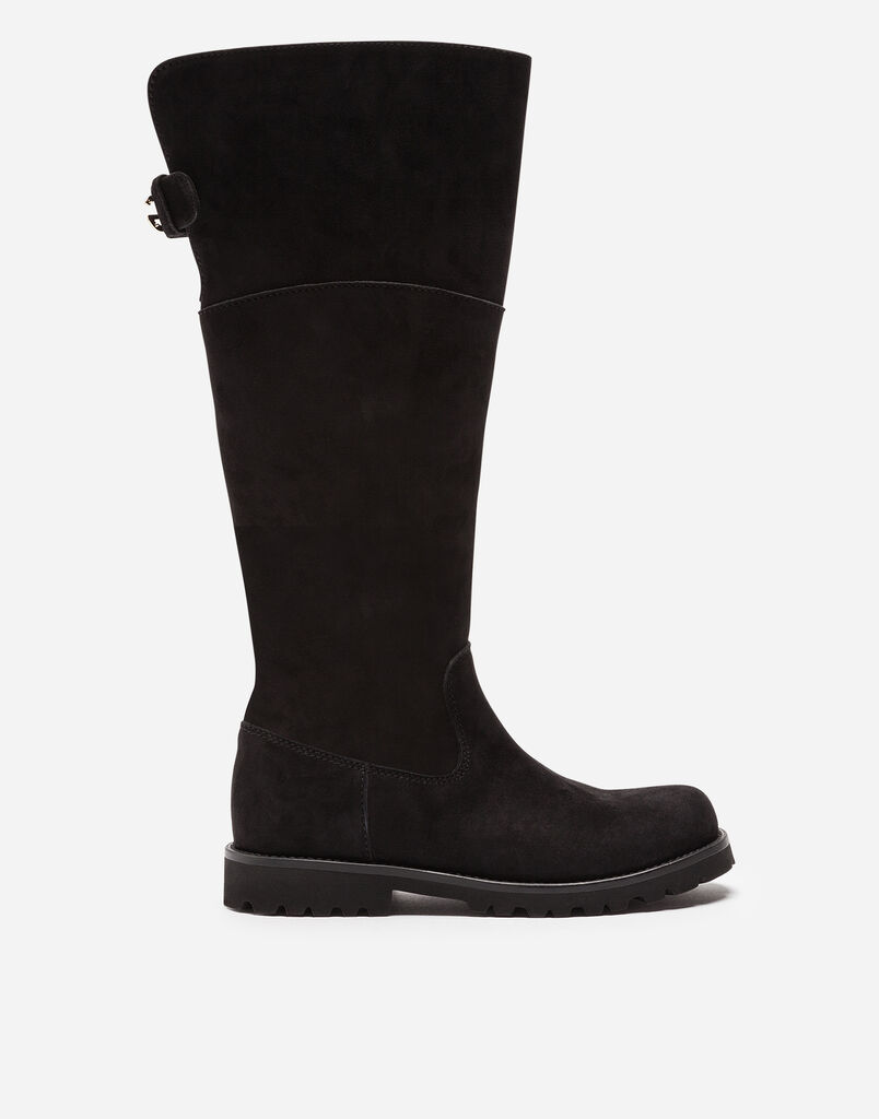 Dolce&Gabbana TALL SUEDE BOOTS