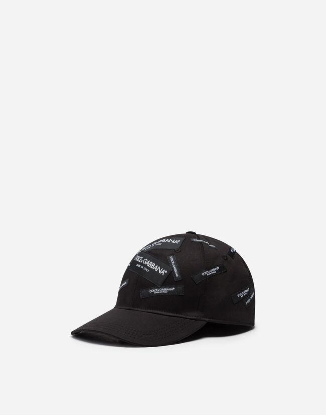 Cappello Da Baseball Con Patch - Accessori Uomo  22d2c7c72b65
