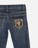 STRETCH JEANS WITH PATCH