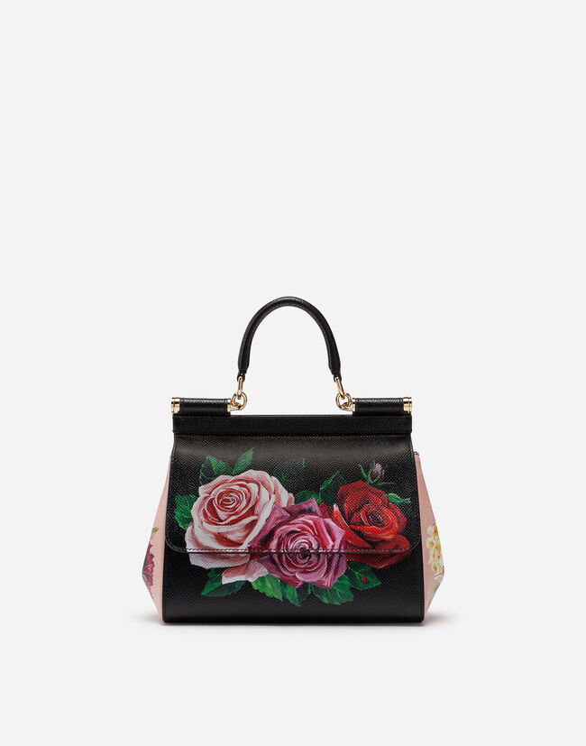 cb44336e8d Shoulder and Crossbody Bags. small sicily bag in printed dauphine calfskin