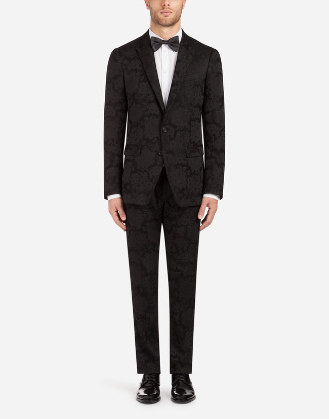 JACQUARD WOOL MARTINI SUIT
