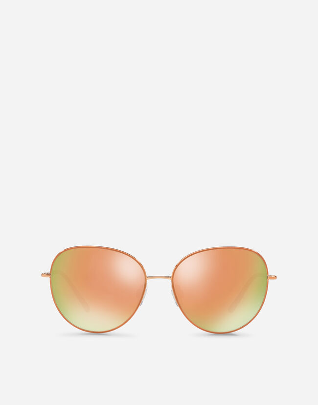 ROUND SUNGLASSES IN THIN METAL