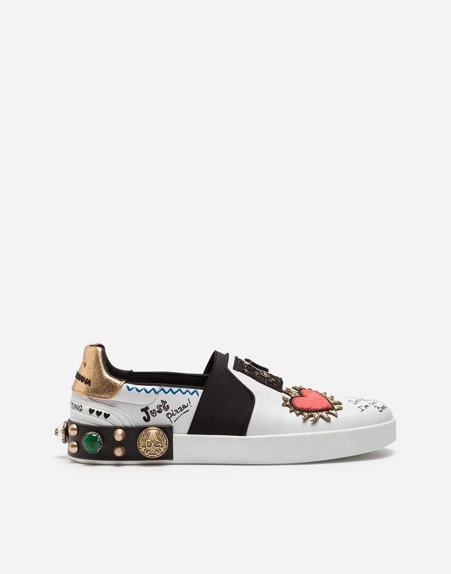 52c90709b9 Zapatillas con y sin Cordones Hombre | Dolce&Gabbana - ZAPATILLAS ...