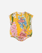 Dolce & Gabbana PRINTED COTTON BODYSUIT