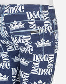 Dolce & Gabbana SKINNY FIT STRETCH JEANS IN PRINTED STRETCH COTTON