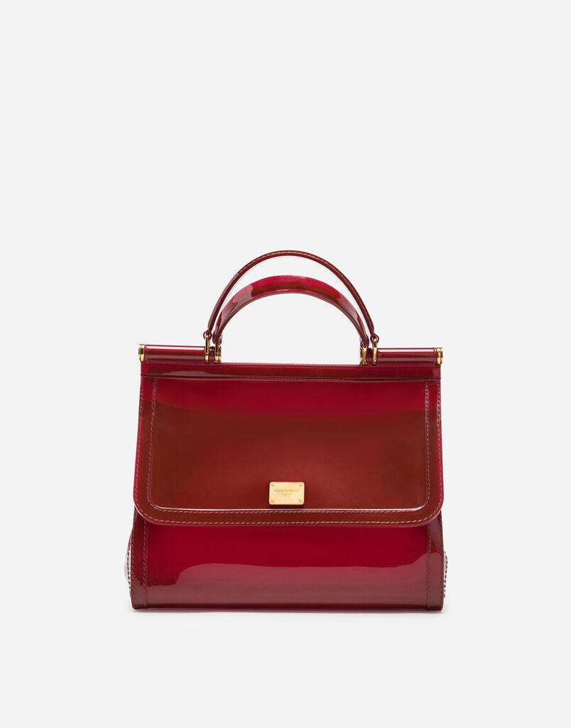Semi Transparent Rubber Sicily Handbag
