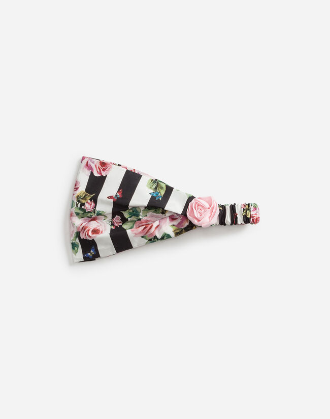 PRINTED COTTON HEADBAND