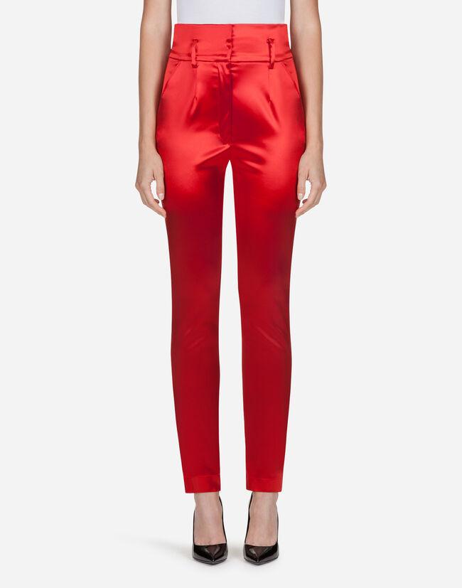 Dolce&Gabbana SATIN PANTS