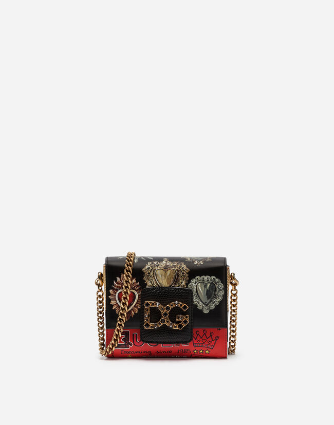 SMALL DG MILLENNIALS BAG IN PRINTED CALFSKIN