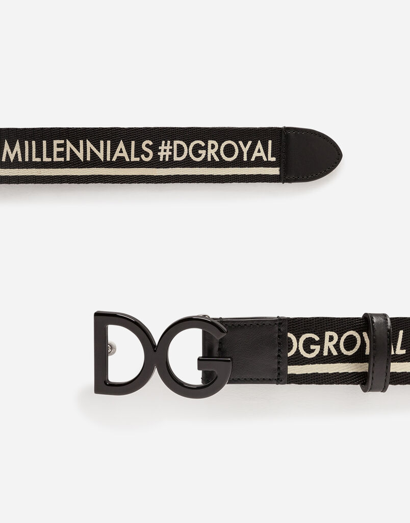 BAND BELT WITH LOGO