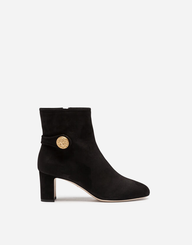 Dolce&Gabbana SUEDE ANKLE BOOTS