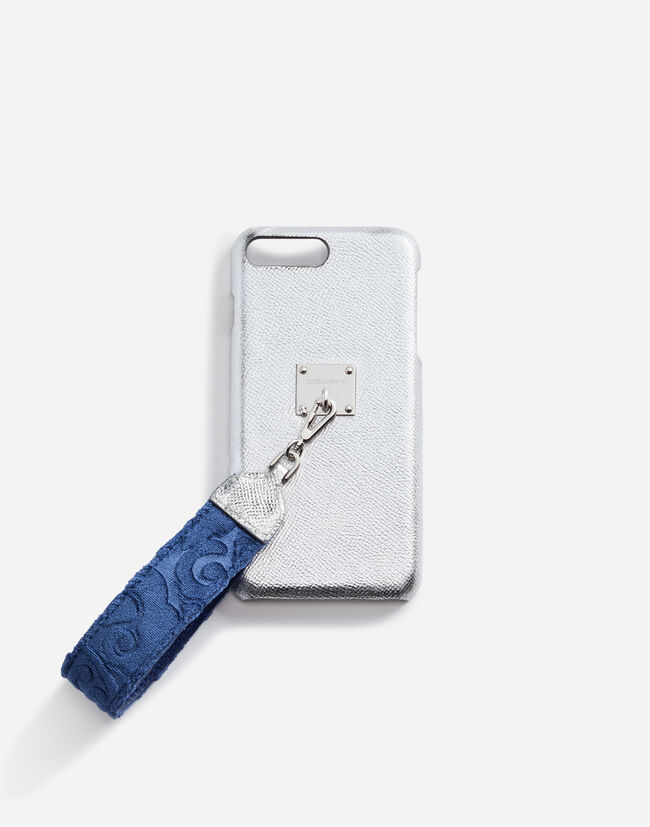 IPHONE 7/8 PLUS COVER WITH BROCADE BRACELET ATTACHMENT