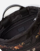 Dolce & Gabbana PRINTED NYLON BACKPACK WITH DRAWSTRING