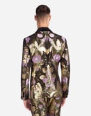 JACQUARD SMOKING JACKET