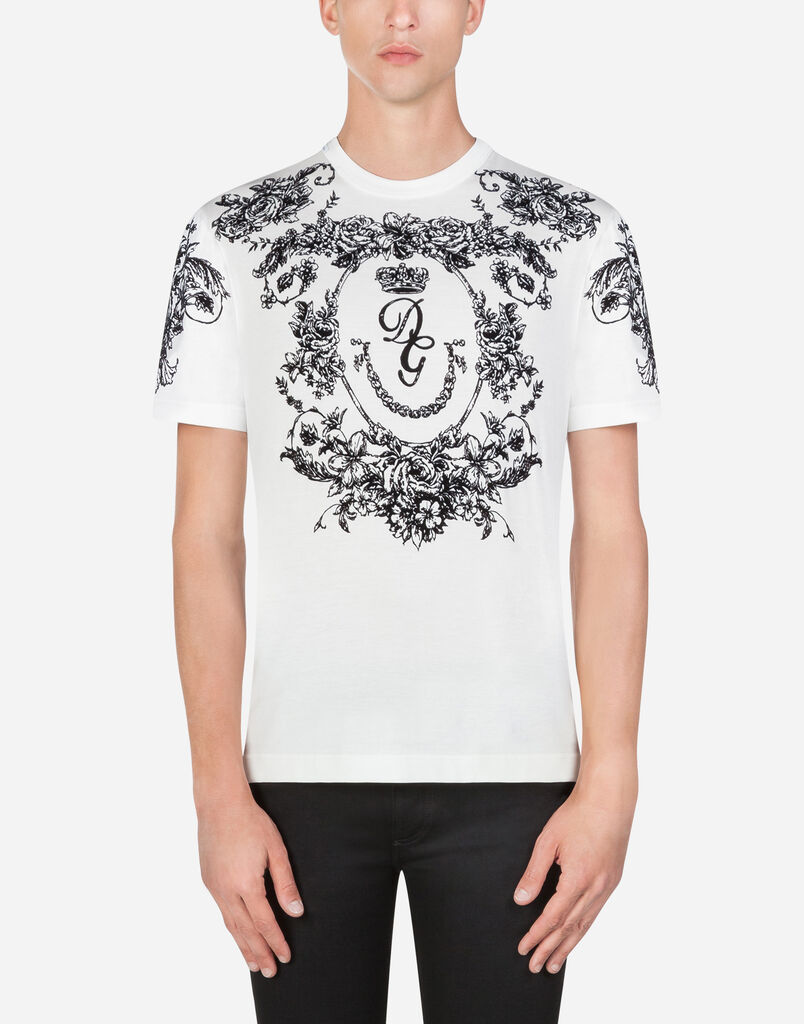 4b149e464f T-shirts and Polo for Men | Dolce&Gabbana