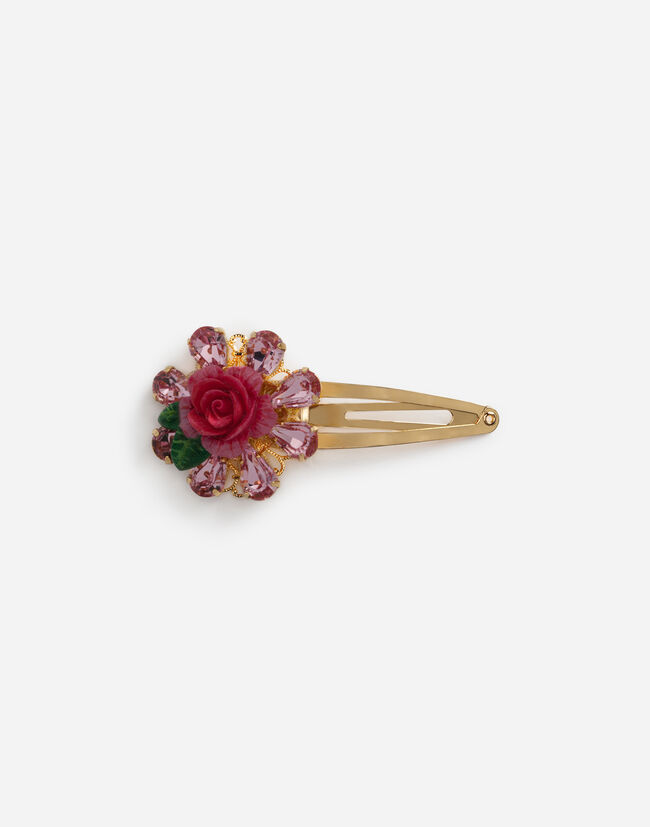 Dolce&Gabbana HAIR CLIP WITH APPLIQUÉ