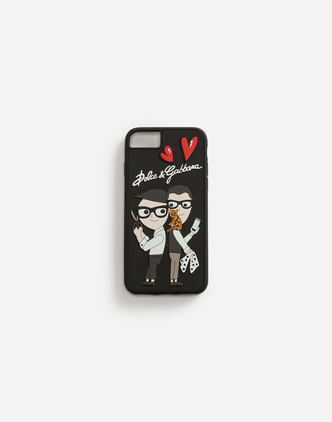 RUBBER IPHONE 7/8 COVER WITH THE DESIGNERS