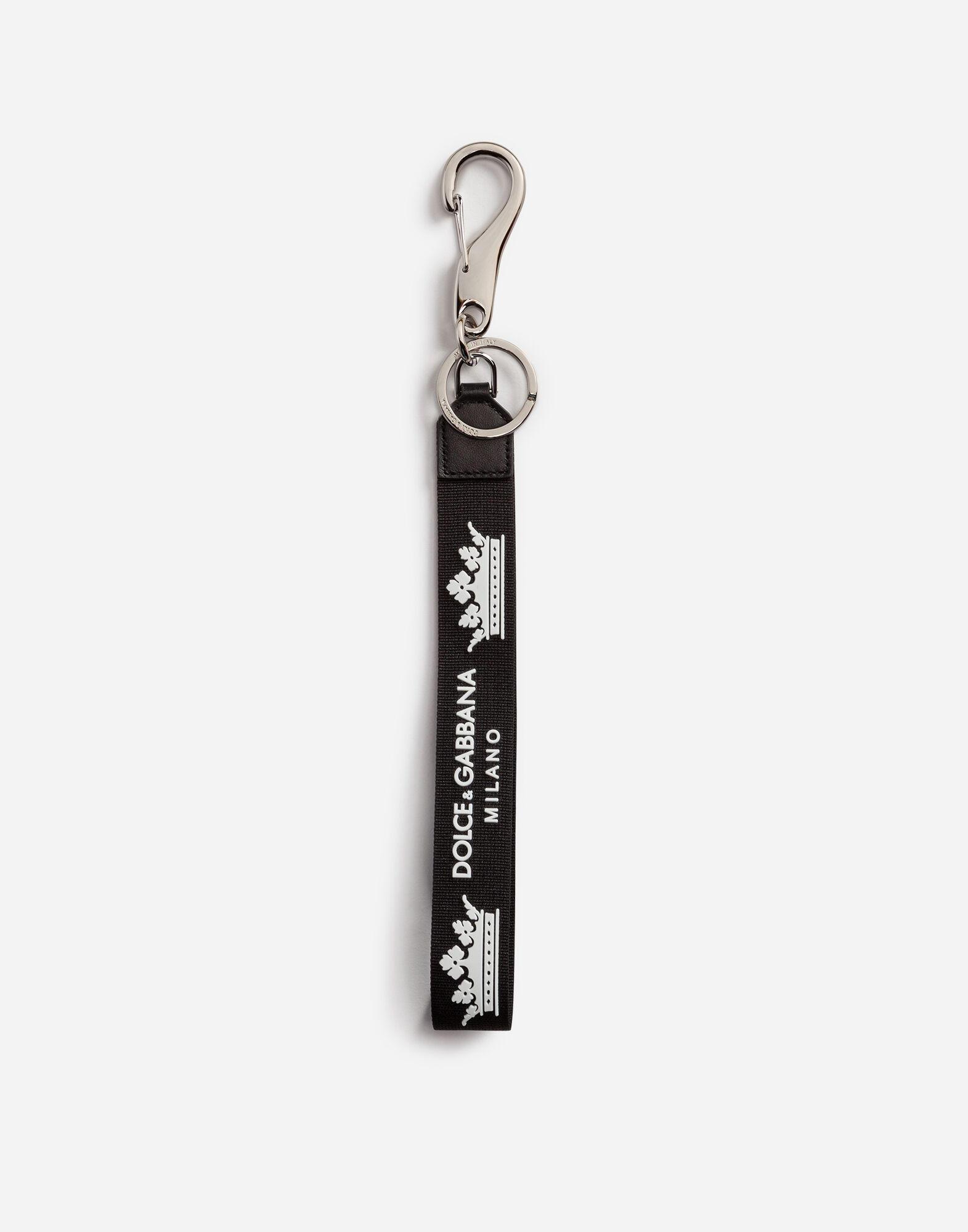 KEYCHAIN WITH BRANDED RIBBON