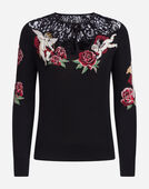 Dolce & Gabbana WOOL AND SILK KNIT