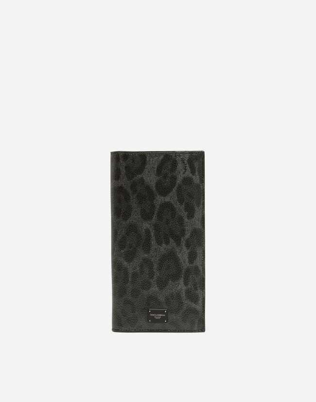 LEOPARD CREPE LONG WALLET